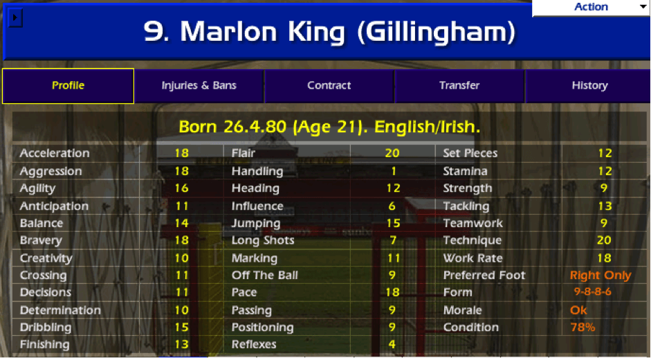 CLASSIC CHAMPIONSHIP MANAGER : JUST DON'T UPSET ROY    | The Higher