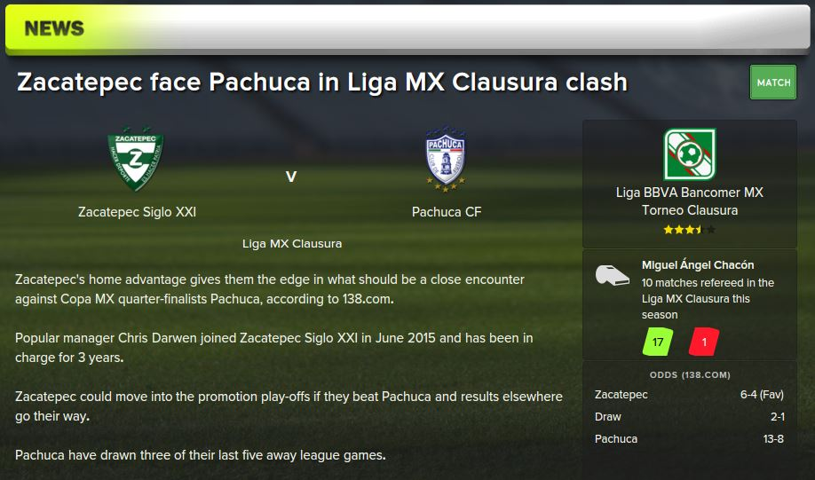 pachuca preview