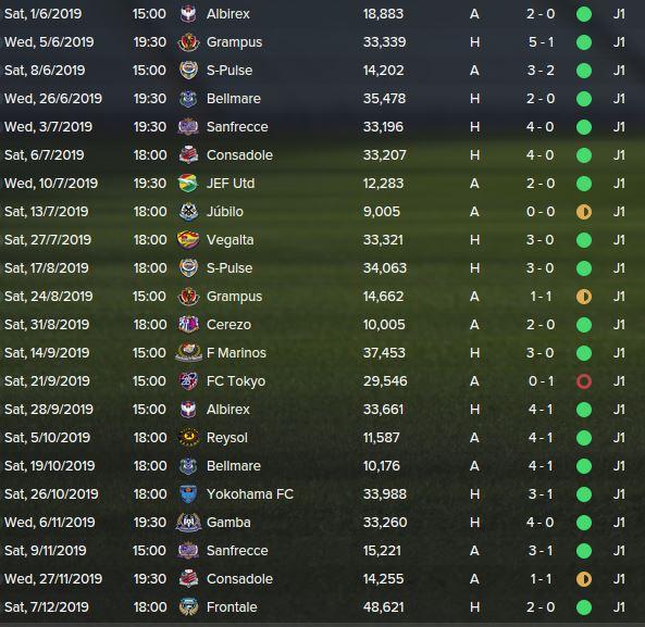 league fixtires 2019